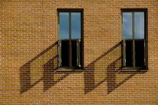 Free Pair Of Windows Royalty Free Stock Photos - 2915788