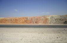 Free Road In The Dead Sea Stock Image - 2916641