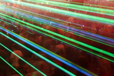 Free Laser Crowd Royalty Free Stock Photography - 2917407