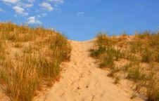 Dune Way Stock Images