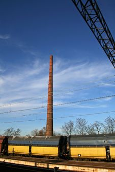 Free Smoking Factory Chimney Stock Photography - 2918502
