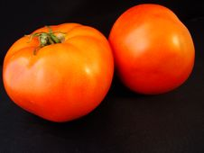 Tomatoes For Two -1 Royalty Free Stock Photography