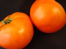 Tomatoes For Two -2 Royalty Free Stock Photography