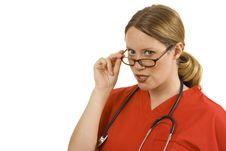 Free Female Doctor Or Nurse Royalty Free Stock Photo - 2919985