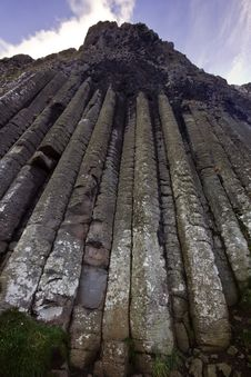 The Organ - Part Of The Giant S Causeway UNESCO World Heritage Site Royalty Free Stock Photos
