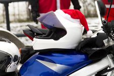 Free Helmet Of Santa Claus Stock Photos - 29102983