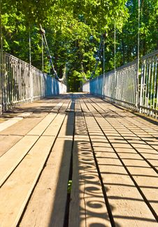 Free Wire Bridge Royalty Free Stock Images - 29107909