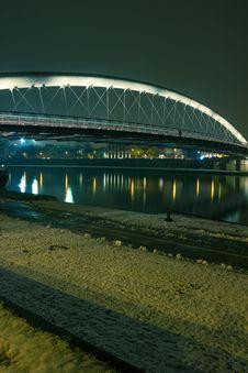 Love Footbridge In Krakow. Stock Image