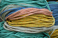 Free Colorful Rope Used For The Lobstering Trade Stock Photo - 29113970