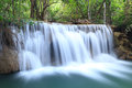 Free Deep Forest Waterfall Stock Photography - 29116352