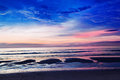 Free Sunset At The Beach Royalty Free Stock Photos - 29117978