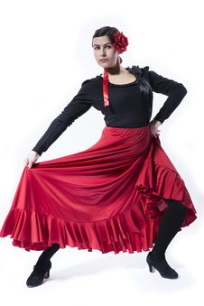 Free Flamenco Dancer Royalty Free Stock Images - 29112099