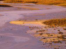 Free Sunrise On A Cape Cod Marsh Stock Image - 29114081