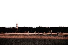 Free The Assateague Lighthouse In Virginia Stock Image - 29114541