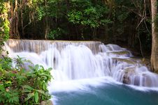 Free Deep Forest Waterfall In Thailand Royalty Free Stock Photos - 29117728