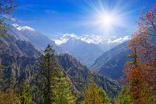 Free Himalayas Landscape, Nepal Stock Photography - 29117982