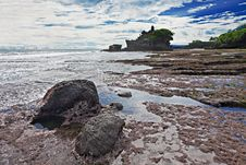 Free Pura Tanah Lot Temple Stock Photography - 29118002