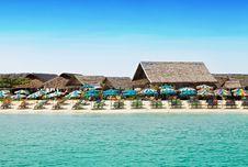 Free Beach Resort Royalty Free Stock Image - 29118336