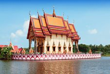 Free Wat Chalong Royalty Free Stock Image - 29118576