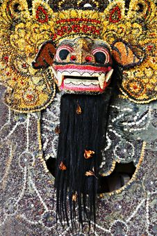 Free Barong Mask Royalty Free Stock Image - 29118666