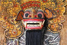 Free Barong Mask Royalty Free Stock Photography - 29118667