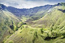 Free Inside Batur Volcano Royalty Free Stock Photography - 29119007