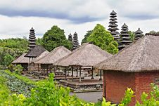 Taman Ayun Temple Royalty Free Stock Photos