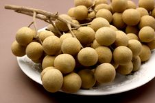 Free Longan Fresh Asia Sweet Fruit, Thailand. Stock Photography - 29123942