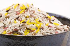 Free Many Color Raw Rice In Bowl Royalty Free Stock Photography - 29124087