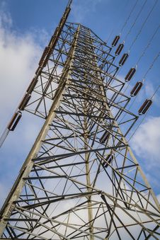 High-voltage Tower Royalty Free Stock Photography