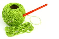 Free Set For Knitting Royalty Free Stock Photos - 29127798