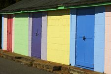 Free Beach Huts Stock Images - 29129274