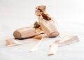 Free Ballet Shoes Stock Photo - 29137520