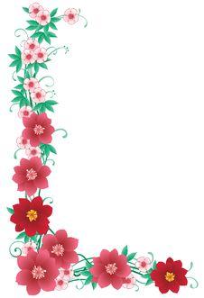 Free Floral Border Stock Photos - 29132663