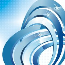 Free Vector 3d Abstract Background Royalty Free Stock Image - 29135536