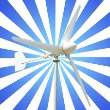 Free Wind Turbine Royalty Free Stock Image - 29136206