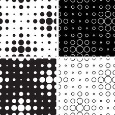 Free Black And White Circles Stock Photography - 29138362