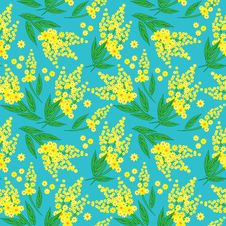 Free Floral Seamless Pattern Stock Photography - 29141722
