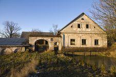 Farmhouse Royalty Free Stock Photo