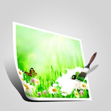 Free Beautiful Spring Backgrounds Royalty Free Stock Images - 29148719