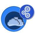 Free Cloud Computing Circles Royalty Free Stock Image - 29153286