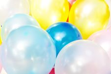 Free Balloon Background Royalty Free Stock Image - 29152836