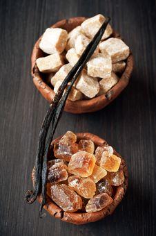 Free Reed Sugar And Vanilla Sticks Stock Images - 29155584