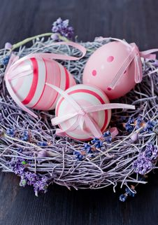 Free Colorful Easter Eggs Stock Photo - 29155760