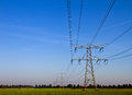 Free Electrical Tower. Royalty Free Stock Photo - 29160005