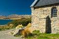 Free Church At Lake Tekapo, New Zealand Stock Image - 29167351