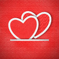 Free Heart Paper Background Royalty Free Stock Photography - 29167707