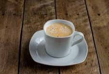 Free Fresh Frothy Coffee. Stock Photo - 29160050