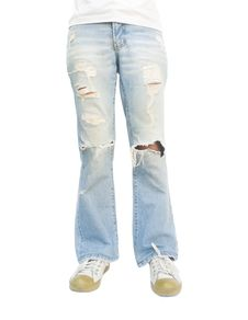 Free Torn Jeans. Royalty Free Stock Image - 29162396