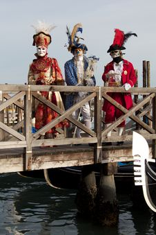 Free Venice Carnival Mask Royalty Free Stock Photography - 29162777